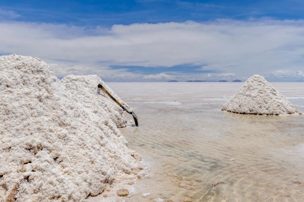representing salt
